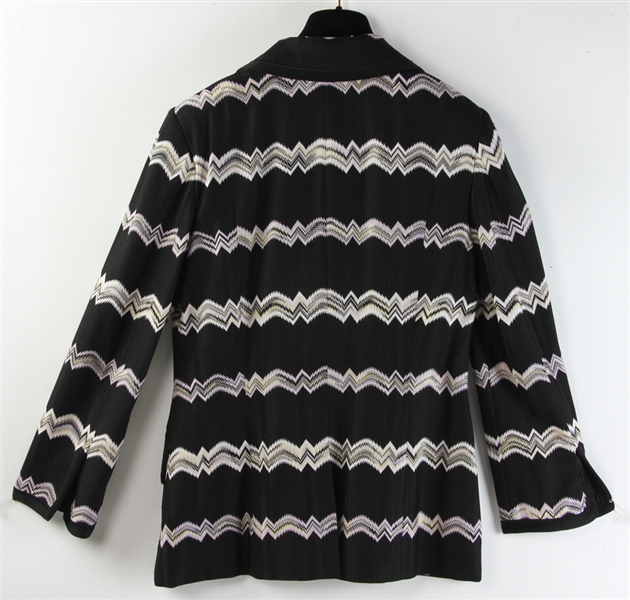 Missoni Black and White Knit Jacket