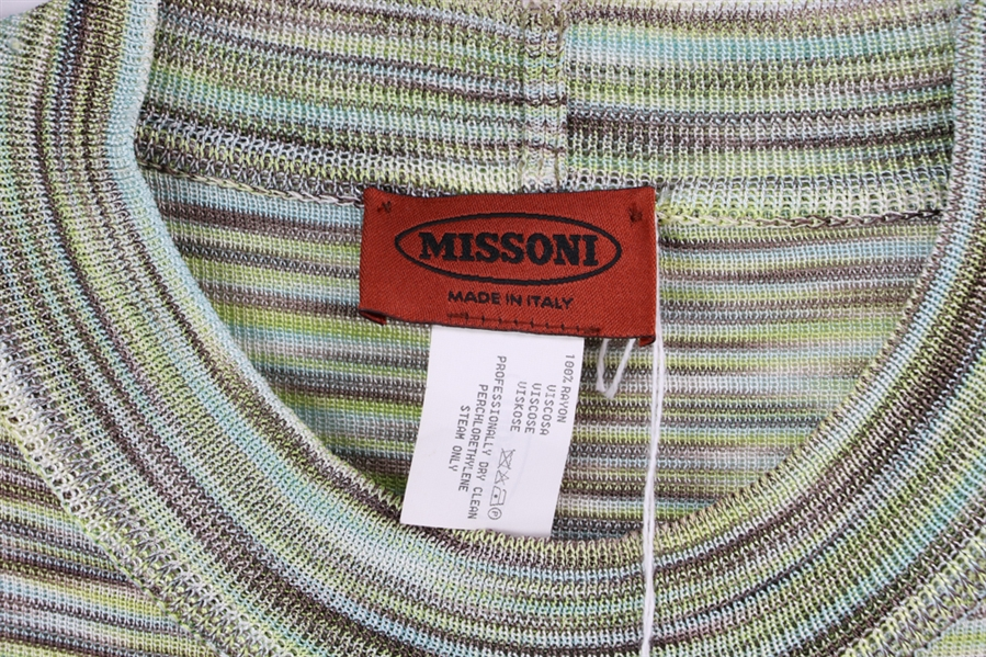 Missoni Two Piece Long Skirt w/ Top