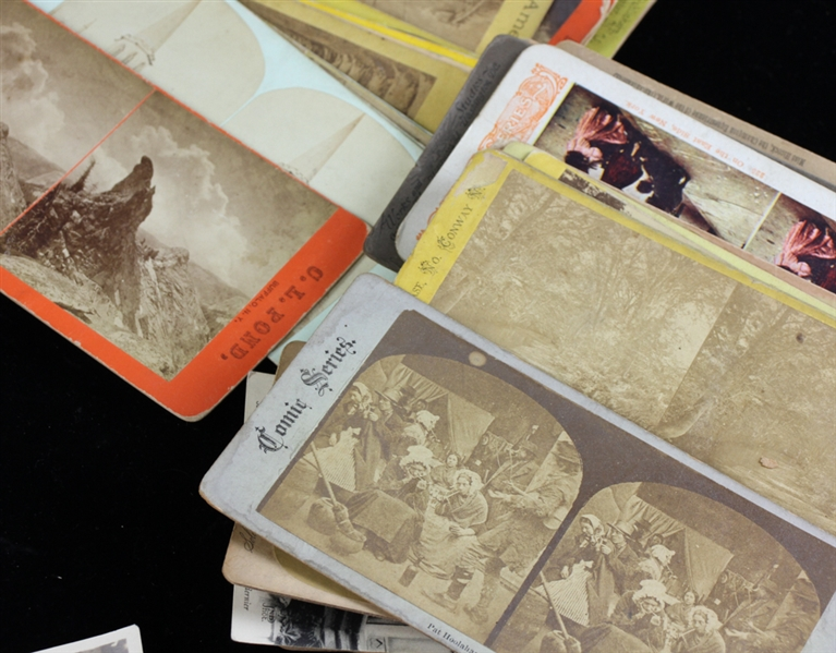 (78) Stereoview Cards