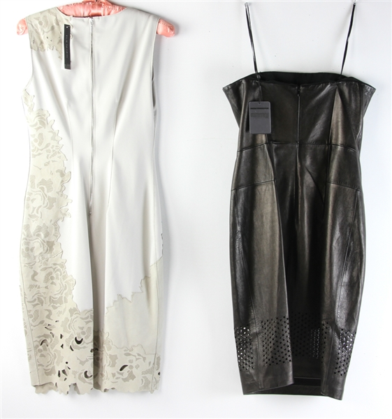 Two Leather Dresses