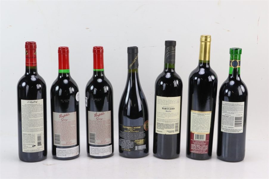 Group of Assorted Wines, Australia, Argentina