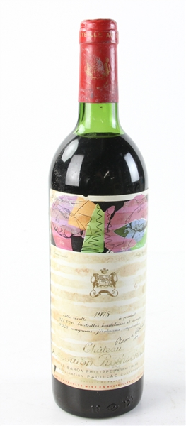 Chateau Mouton Rothschild, 1975