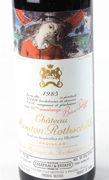 Chateau Mouton Rothschild, 1985