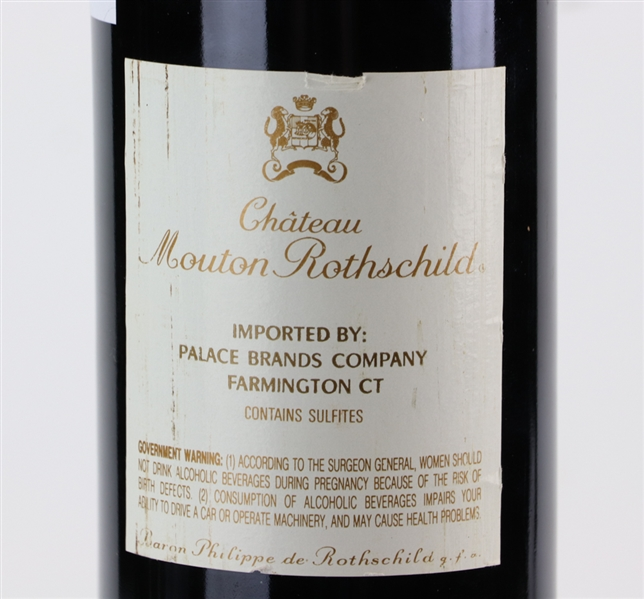 Chateau Mouton Rothschild, 1988