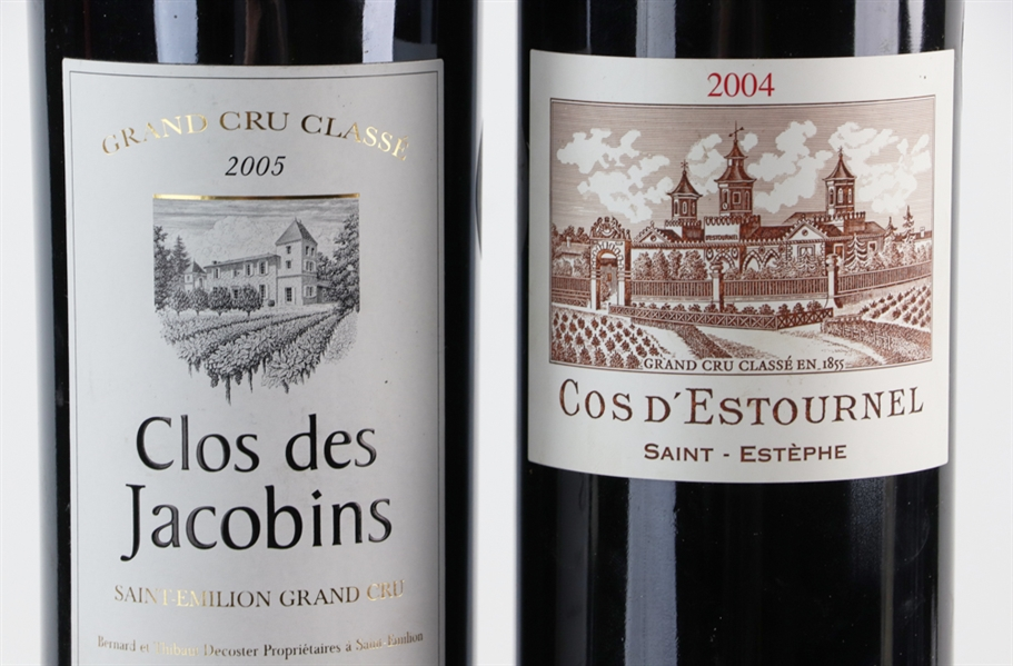 Group of Assorted French Wines