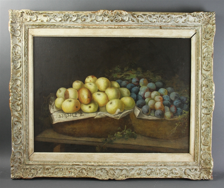 Joseph Decker, Still Life, Oil on Canvas