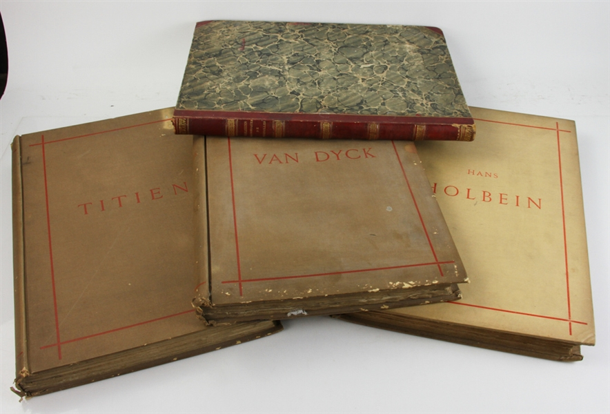 Four 19thC French Books