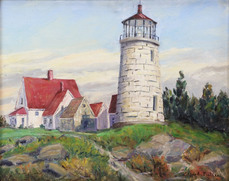 Alfred Russell Fuller, Monhegan Light