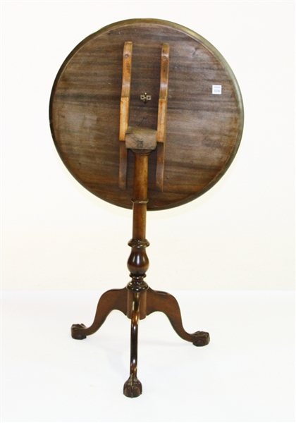 Mahogany Tilt Top Table