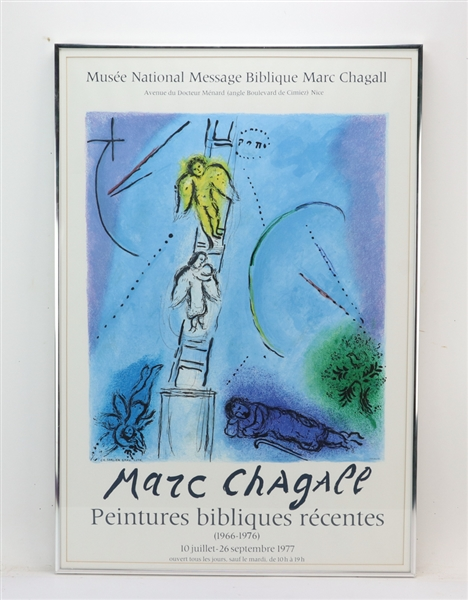 Marc Chagall, French Poster