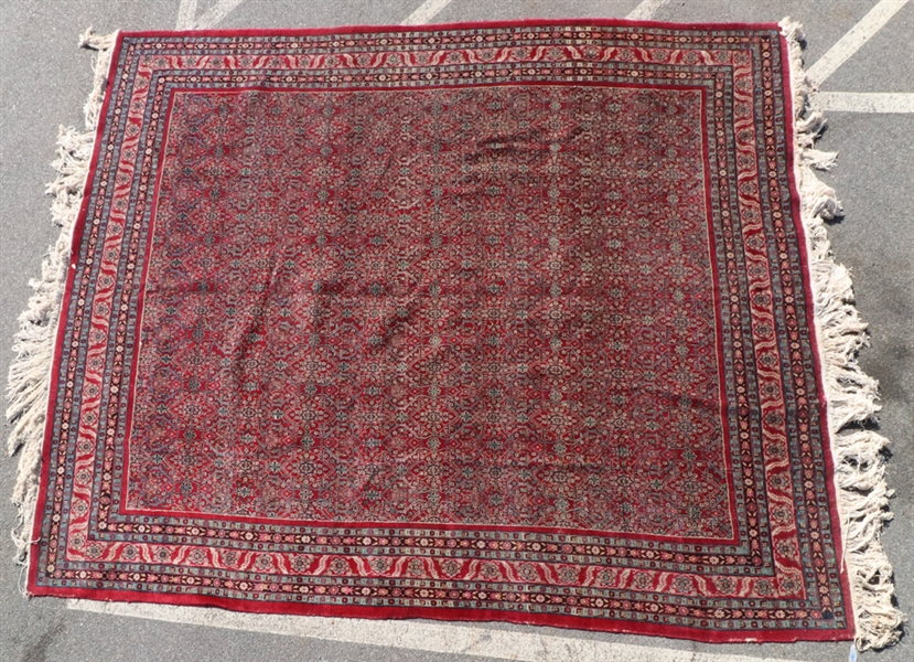 Antique Persian Meshed Rug