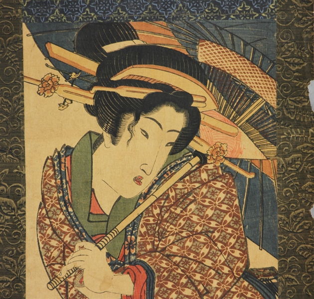 (6) Japanese Woodblock Prints by Esin