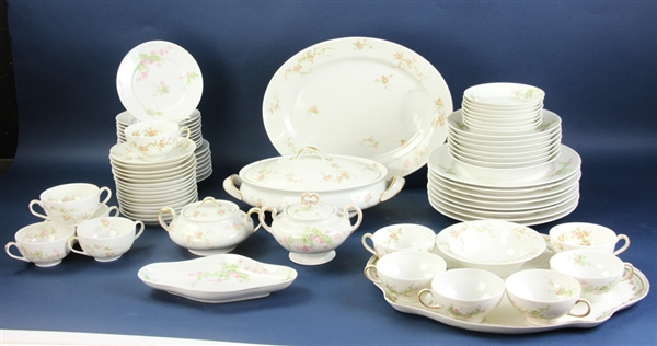 Limoges Wm Guerin Dinner Service