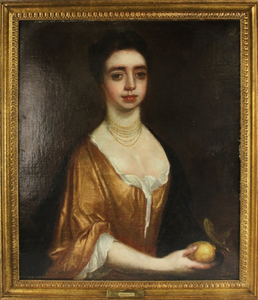 Wollaston, Lady of the Eppes Family, Oil on Canvas