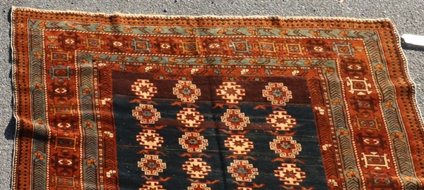 Old Caucasian Shirvan Rug