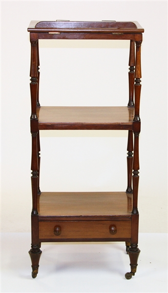 19th Century English Etagere Bookstand