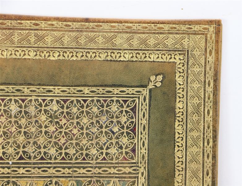 Tooled and Gilt Decorated Leather Portfolios