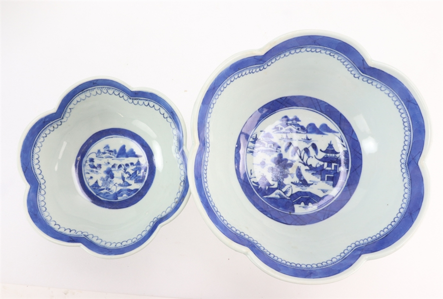 Chinese Canton Porcelain Bowls