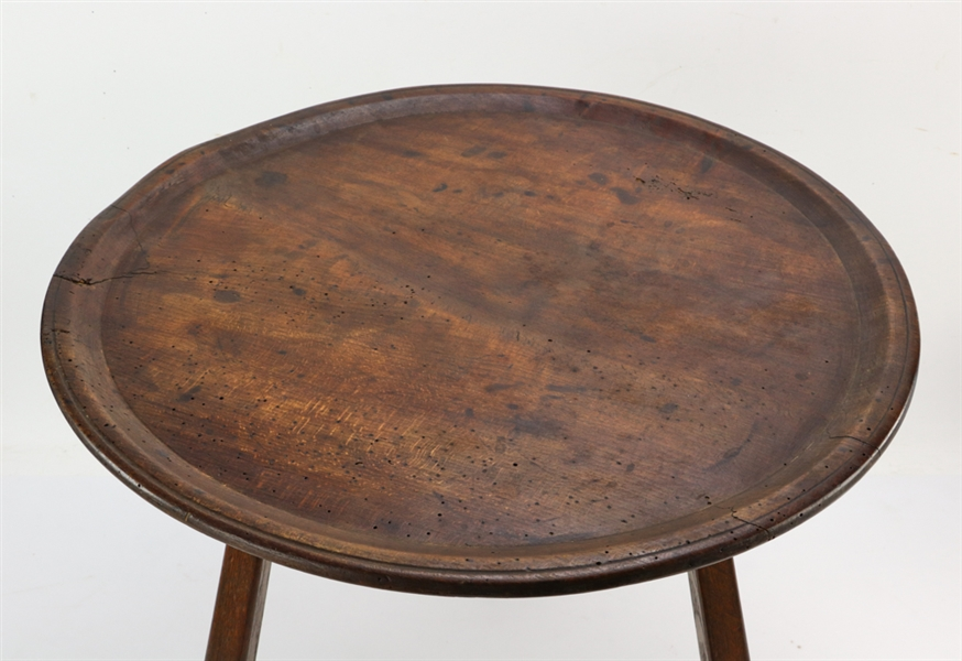 George III Dish Top Tavern Table