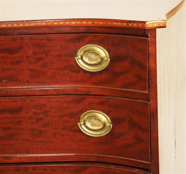 Chippendale Serpentine Front Chest