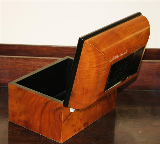 English Style Butler's Stand w/ Cigar Box