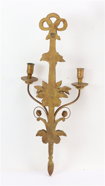 Pair of Decorative Sconces