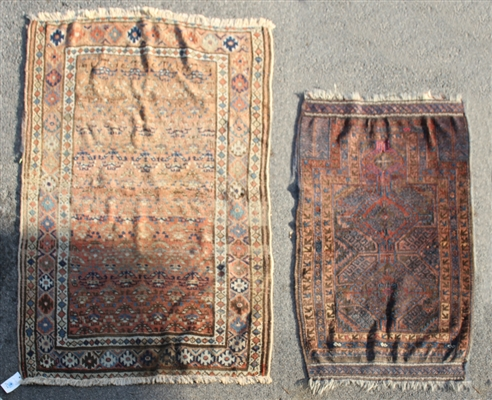 Two Rugs, Balouch and Kurd