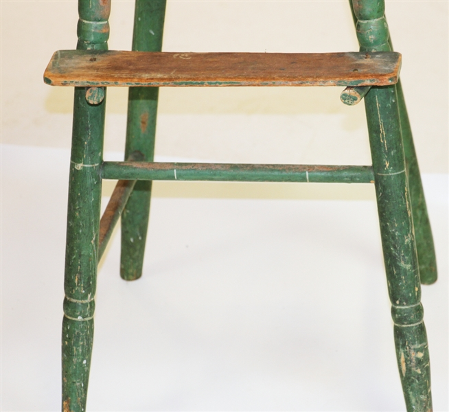 Early Youth Handpainted High Chair