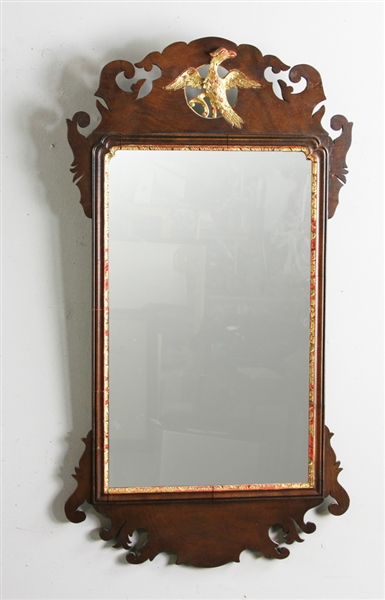 Chippendale Mirror with Eagle Crest