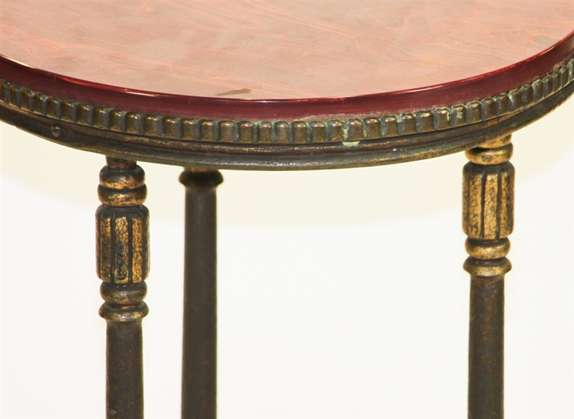 Marble Top Side Table C1920