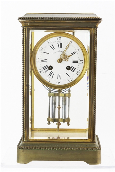 Bigelow and Kennard French Brass Clock