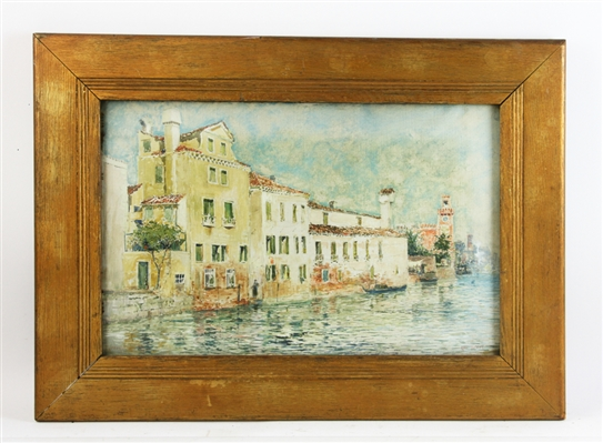 Ross Turner Signed View of Venice