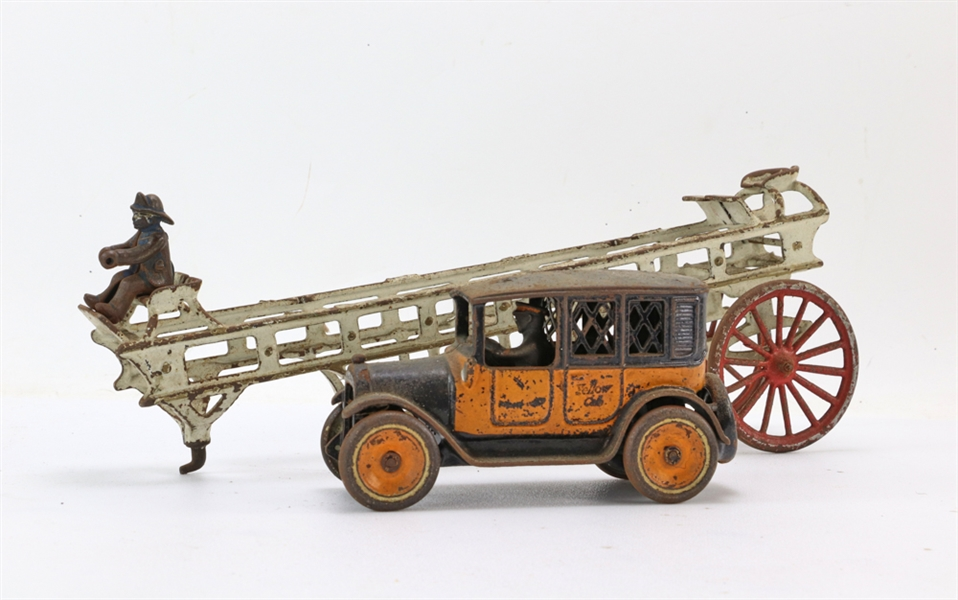 Arcade Toy Car and Fire Truck