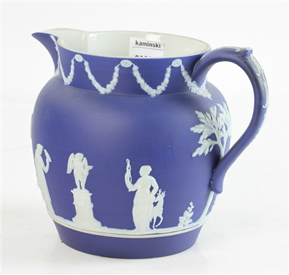Wedgwood Blue and White Pitcher