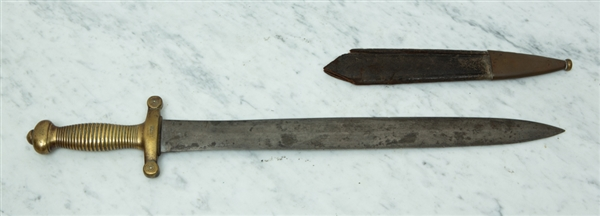 19thC French 1831 Short Sword Coupe Choux