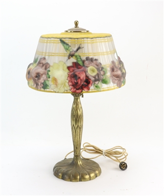 Pairpoint Puffy Table Lamp with Shade