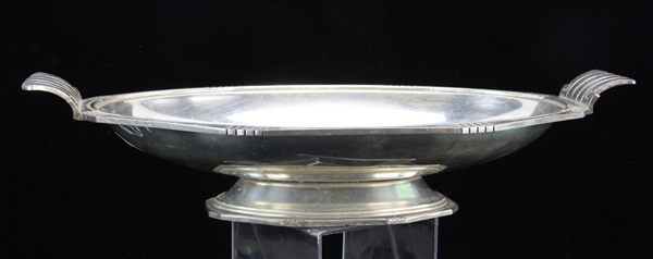 French Silverplated Double Handle Bowl