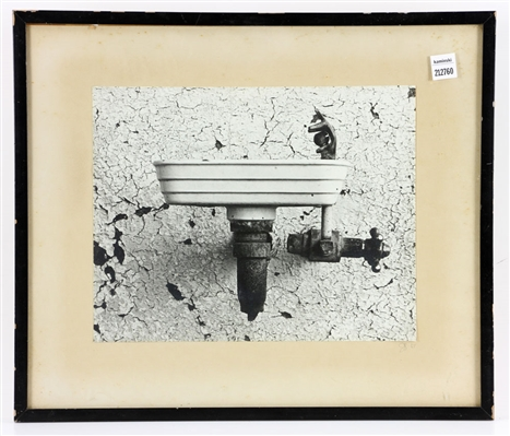 J. Swan, Old Sink, Photograph