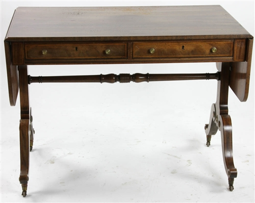 Regency Style Drop Leaf Table by Baker