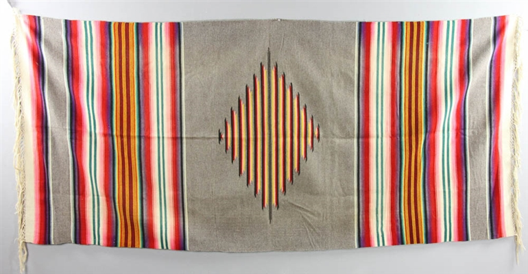 Two Early 20thC Native American Blankets