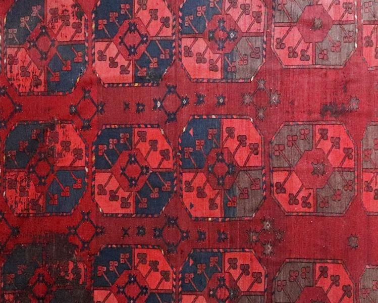 Antique Flat Weave Baluch Bokhara Rug