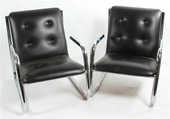 Pair of Modern Armchairs