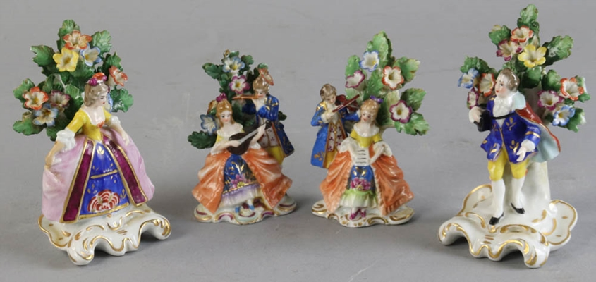 Collection of Four Samson Figures