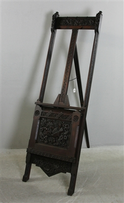 19th Century Carved Easel