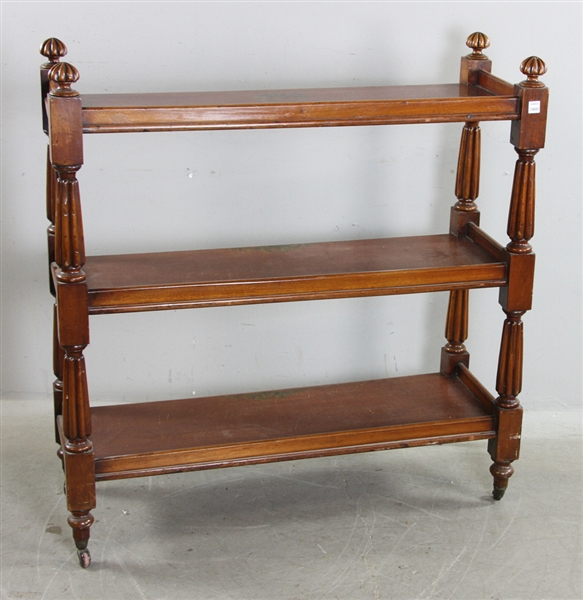Circa 1830 Three Tier Mahogany Server