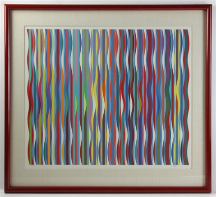 Agam Abstract Print