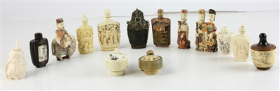 Group of Asian Snuff Bottles