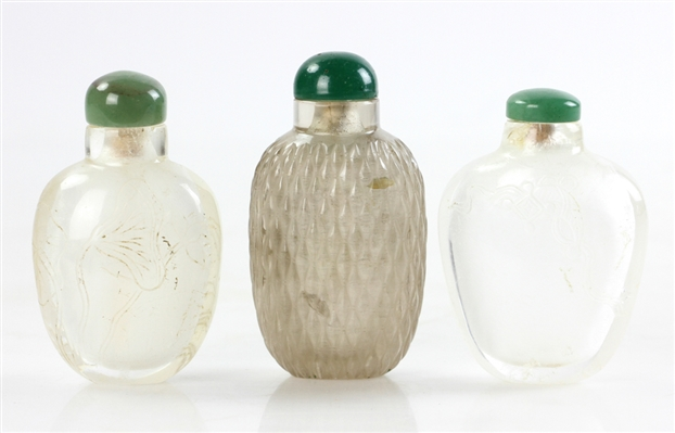 Chinese Peking Glass Snuff Bottles