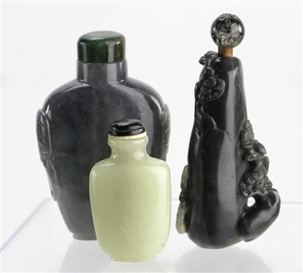 Chinese Jade Snuff Bottles
