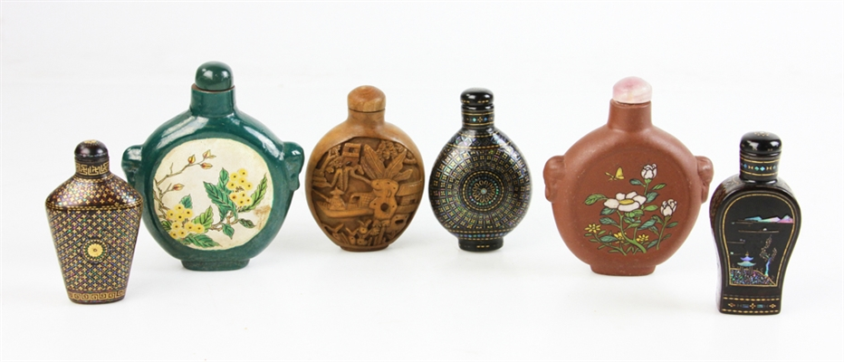 Chinese Assorted Snuff Bottles